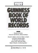 Guinness Book Of World Records 1989