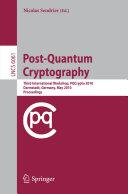 download ebook post-quantum cryptography pdf epub
