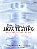 Next Generation Java Testing