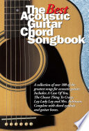 Best Acoustic Guitar Chord Songbook