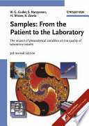 Samples From The Patient To The Laboratory