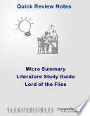 Literature Micro Summary  Lord of the Flies