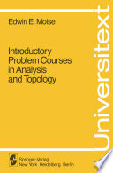 Introductory Problem Courses in Analysis and Topology