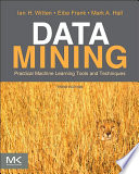 Data Mining Practical Machine Learning Tools And Techniques book