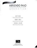 Abriendo Paso Gramatica Revised Softcover 2000c