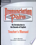 Pronunciation Pairs Teacher s Book