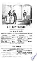 """""""Les"""" dévorants, comédie-vaudeville en deux actes"""