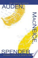 Auden Macneice Spender The Thirties Poetry
