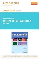 Oral Pathology Pageburst on Kno Retail Access Code