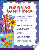 Teaching Beginning Writing, eBook Writing Helping Students Learn To Organize