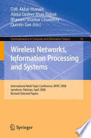 Wireless Networks Information Processing and Systems