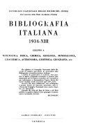 Bibliografia italiana 1928