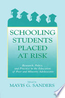 Schooling Students Placed at Risk