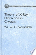 Theory of X Ray Diffraction in Crystals