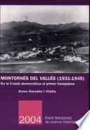 Montornès del Vallès (1931-1945)
