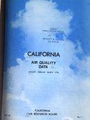 California Air Quality Data