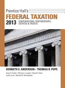 Prentice Hall s Federal Taxation 2013 Corporations  Partnerships  Estates and Trusts