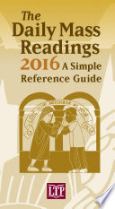 The Daily Mass Readings 2016