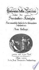 Antonia della Roccini die Seerauber-Konigin