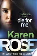 Die For Me The Philadelphia Atlanta Series Book 1