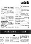 Catholic School Journal
