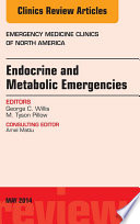 Endocrine And Metabolic Emergencies An Issue Of Emergency Medicine Clinics Of North America