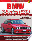 Bmw 3 Series E30 Performance Guide 1982 1994