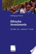 Ethische Investments