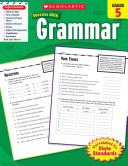 Scholastic Success With Grammar  Grade 5