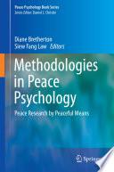 Methodologies in Peace Psychology