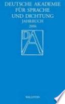 Jahrbuch der deutschen Schillergesellschaft 2006