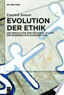 Evolution der Ethik