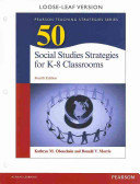 50 Social Studeies Strategies for K 8 Classrooms