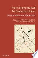 From Single Market to Economic Union