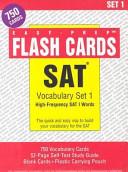 SAT Vocabulary Set #1