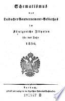 Schematismus des Laibacher Gouvernement-Gebieths