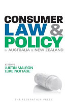 Consumer Law   Policy in Australia   New Zealand