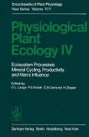 Physiological Plant Ecology IV