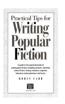 Practical tips for writing popular fiction