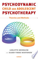 Psychodynamic Child and Adolescent Psychotherapy