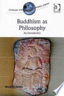 Buddhism as Philosophy