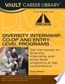 Vault Inroads Guide To Diversity Internship Co Op And Entry Level Programs