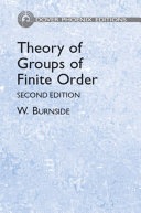 download ebook theory of groups of finite order pdf epub
