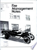 Fire Management Notes Book PDF