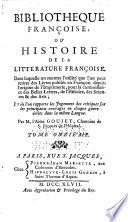 Bibliothèque françoise