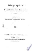 Biographie Napoleons des Grossen