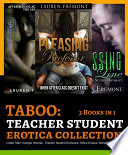 TABOO  Teacher Student Erotica Collection  3 Books in 1