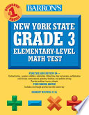 New York State Grade 3 Elementary level Math Test