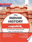 The History Compendium For Ias Prelims General Studies Paper 1 State Psc Exams 3rd Edition