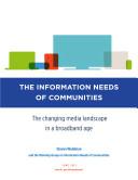 Information Needs of Communities